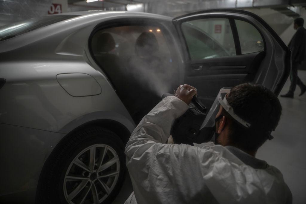 Covid-19 car fogging