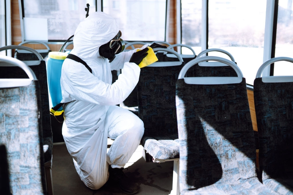 Cleaning and Disinfecting public transport